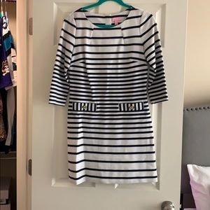 Lilly Pulitzer striped dress